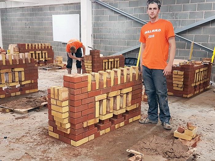 Construction department excels at Skillbuild 2018