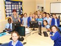 Donation of computers to primary school