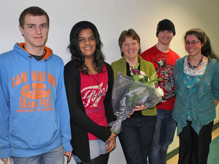 Mathew Smith, Jayna Mistry, Susie MacMurray, Mathew Morley and Victoria Cutts