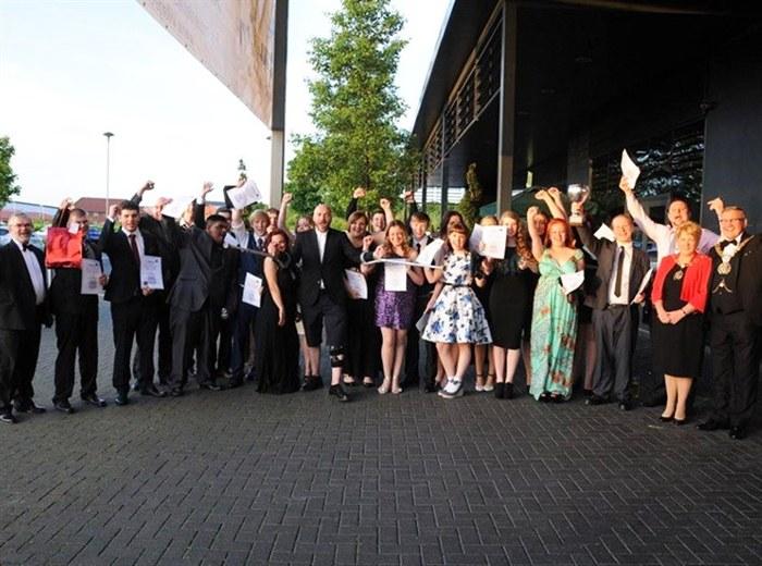Food Studies Winners celebrate their success