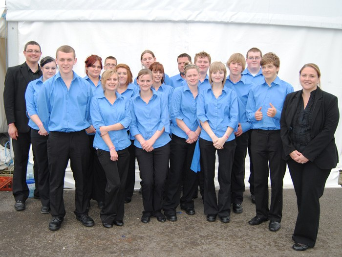 Catering and Hospitality students