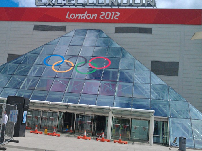 The Olympic host venue, ExCel London.