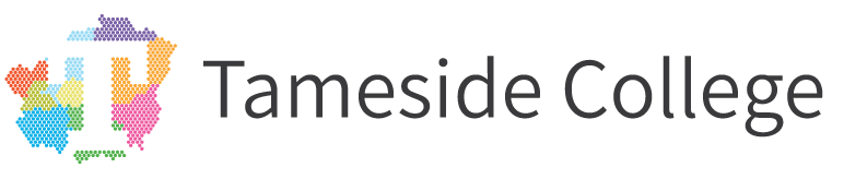 Tameside College Logo Mobile