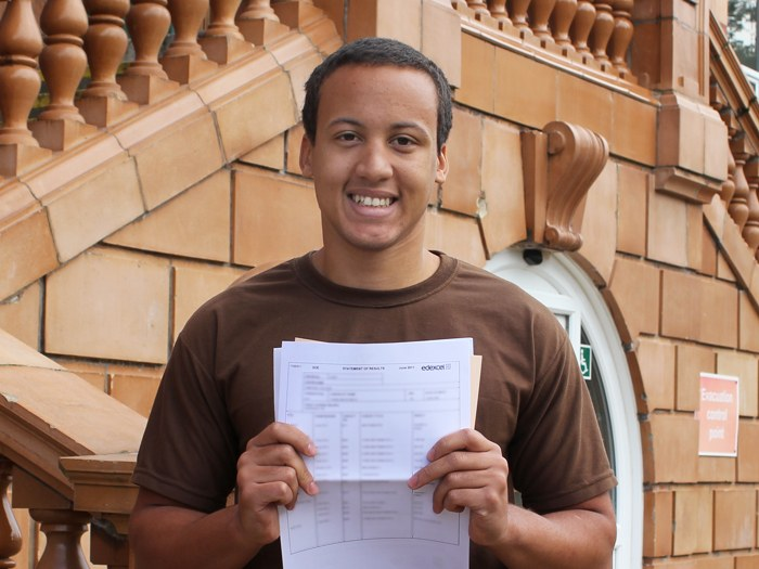 Thabo is going to study at Nottingham University
