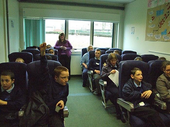 The 'Plane' classroom