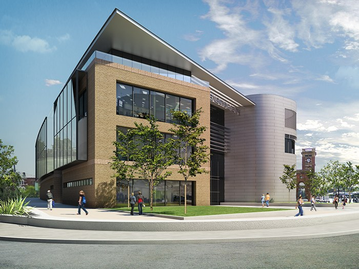 The new Advanced Learning Centre will provide state-of-the-art Sixth Form facilities in Ashton Town Centre