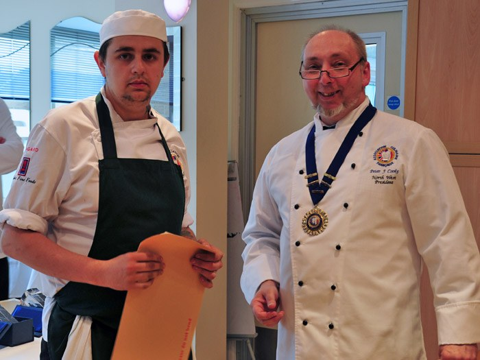 Christopher Owen from Castle Hotel Conway was announced professional winner